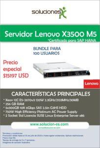 X3500 - 100 Usuarios