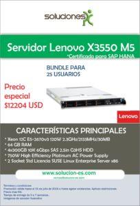 X3550 - 25 Usuarios